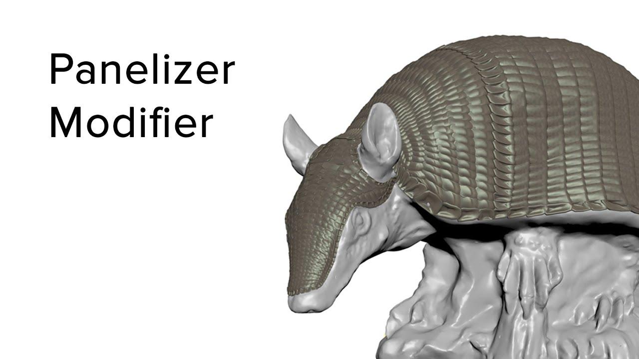 【3dsMax】Panelizer Modifier