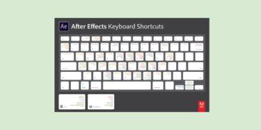 【AE】AfterEffectsで使える便利な機能とショートカット